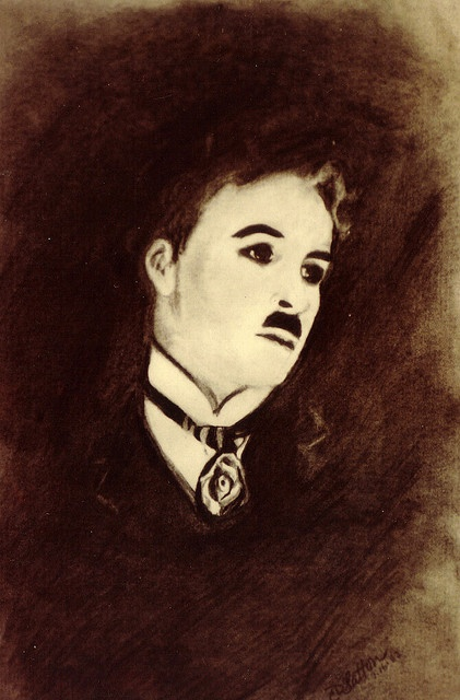 Charlie Chaplin by C D Slatton