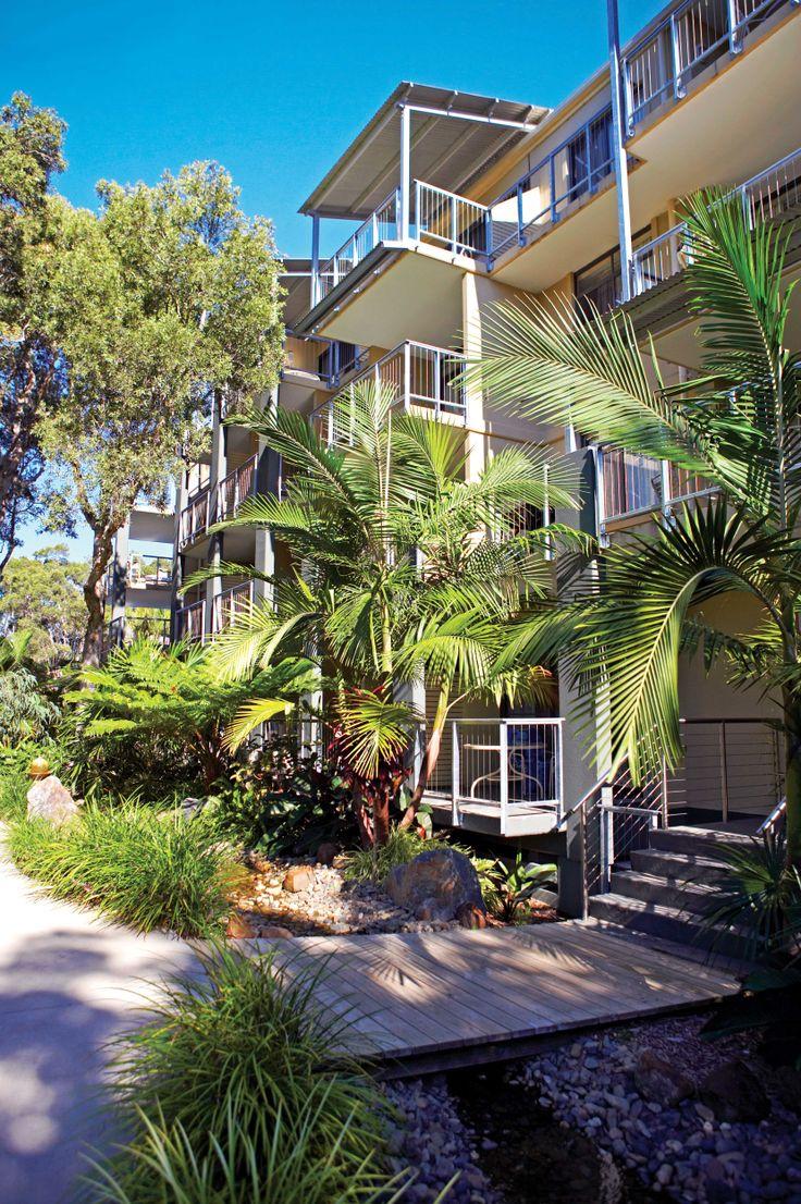 Nestled amongst a striking natural tropical setting | Wyndham Flynns Beach, Port Macquarie, NSW, Australia.