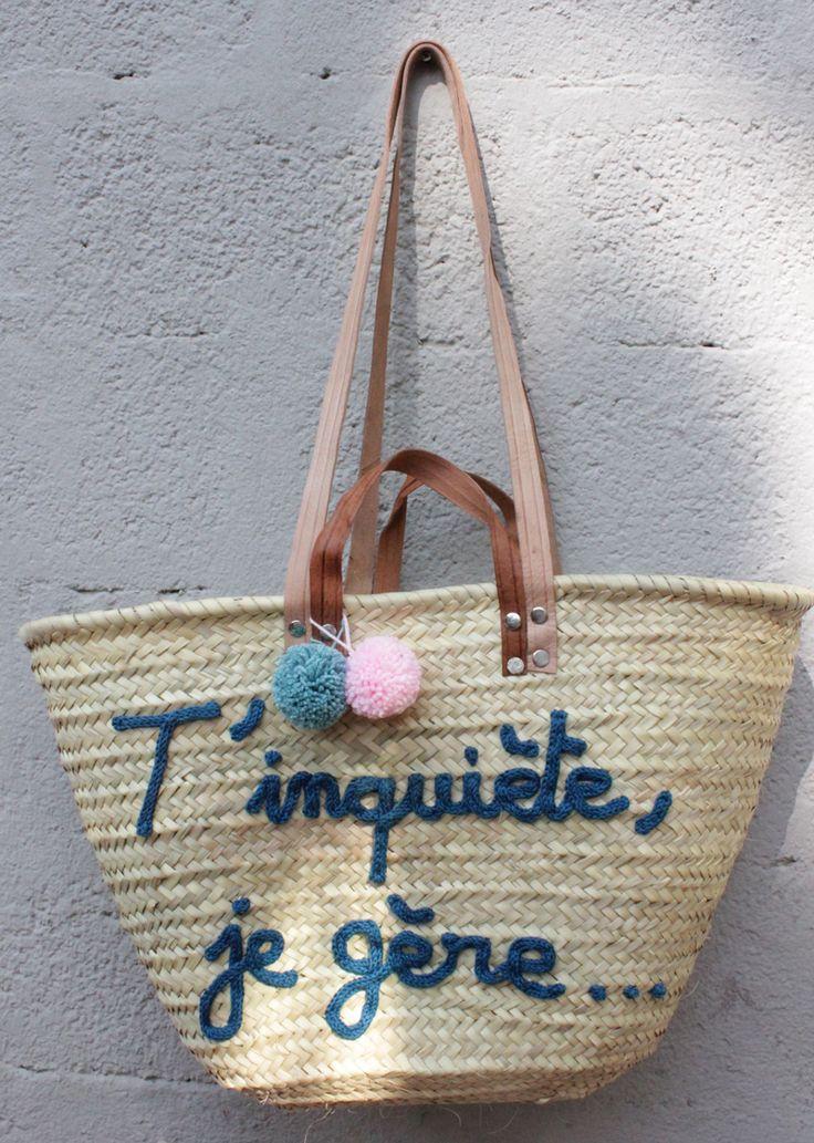 L'atelier Des Petites Bauloises: Panier t'inquiète, je gère...