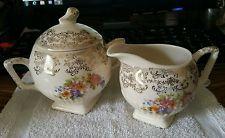 Vintage, rare Royal China creamer/sugar. Nat. Brotherhood Oper. Potteries
