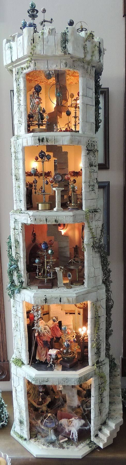 Fulltower (the Five Tiered Tower. Go through to Magical Miniatures for a closer look) Good Lord!! :O