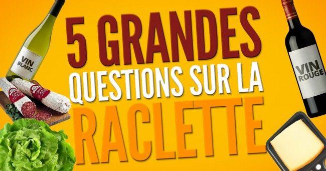 [VIDEO] Top 5 des grandes questions qui agitent le monde de la raclette