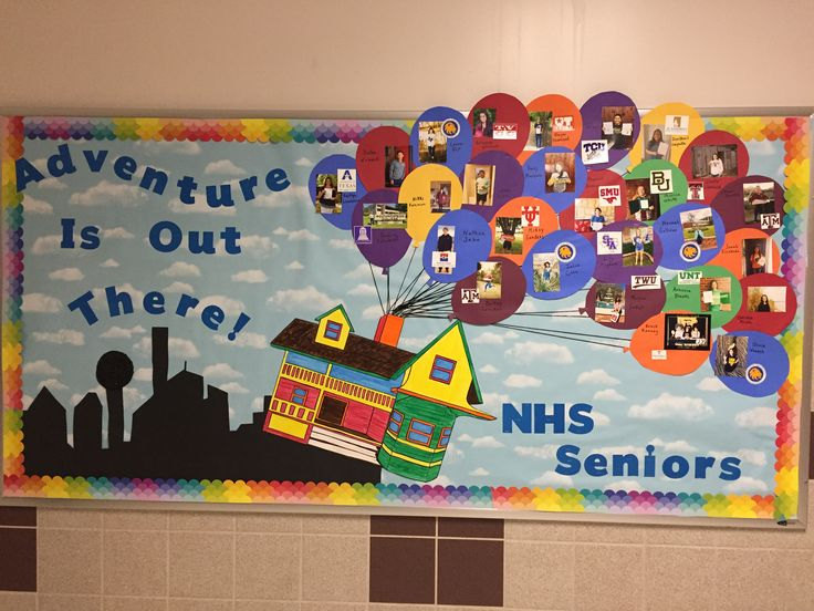 FHS National Honor Society Senior UP board! We spent 3+ hours on this!