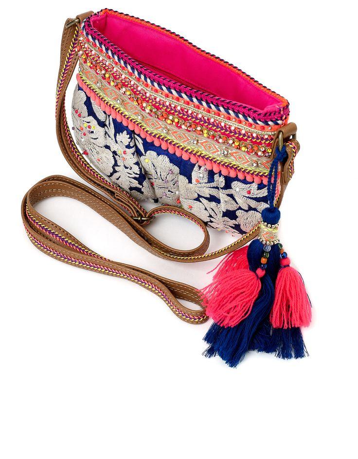 Ferne Mini Pouch Across Body Bag | Multi | Accessorize