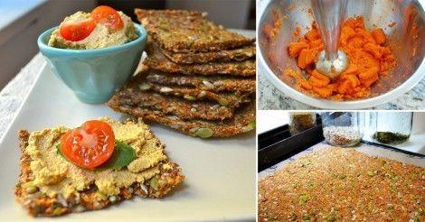 Sándwich ¡con pan de zanahoria y semillas!