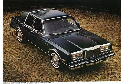 1982 Chrysler New Yorker Fifth Avenue Edition | coconv | Flickr