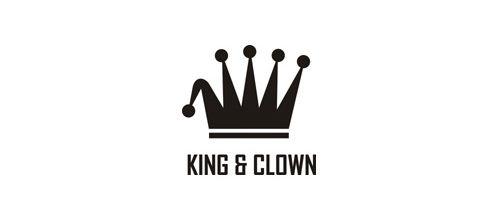 """KING & CLOWN"" Logo"