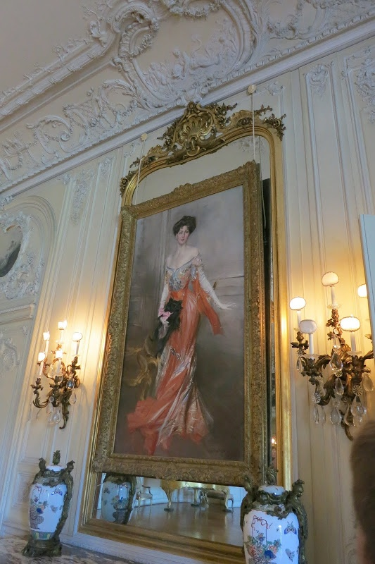 The Elms, Giovanni Boldini portrait of Elizabeth Drexel ...