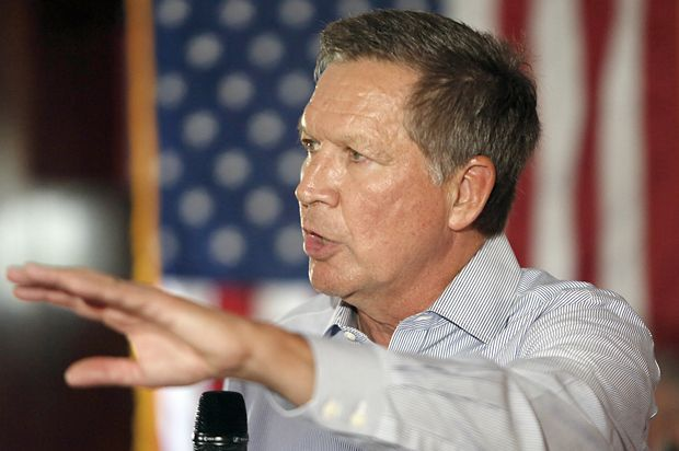 Kasich's exasperated howl: Fading in the 2016 polls, Ohio's governor lashes out at the GOP