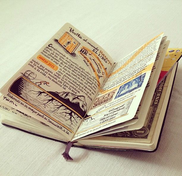 Seaweed Kisses: The Journal Diaries- Jose's Moleskine