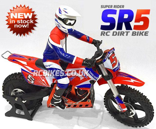 Super Rider Sr5 Rc Dirt Bike Rc Bikes Uk 1 4 Scale Rc
