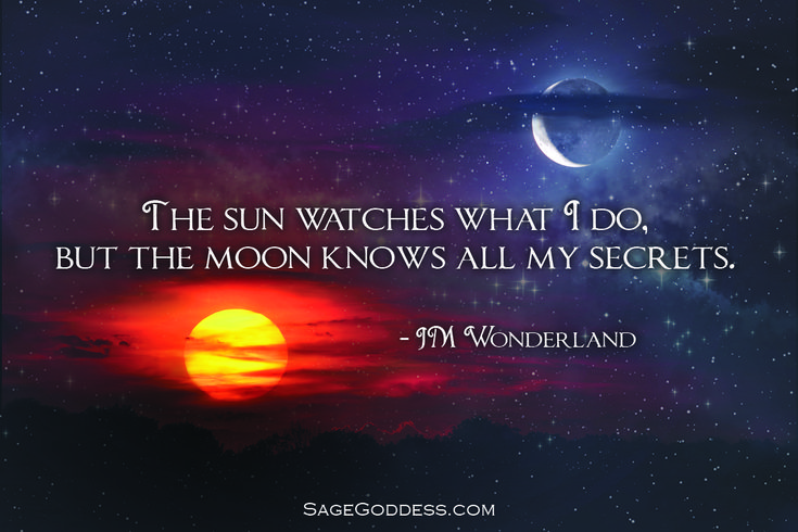 What is one secret you have told the moon? Click this post for a beautiful sacred adornment to harness lunar magic.