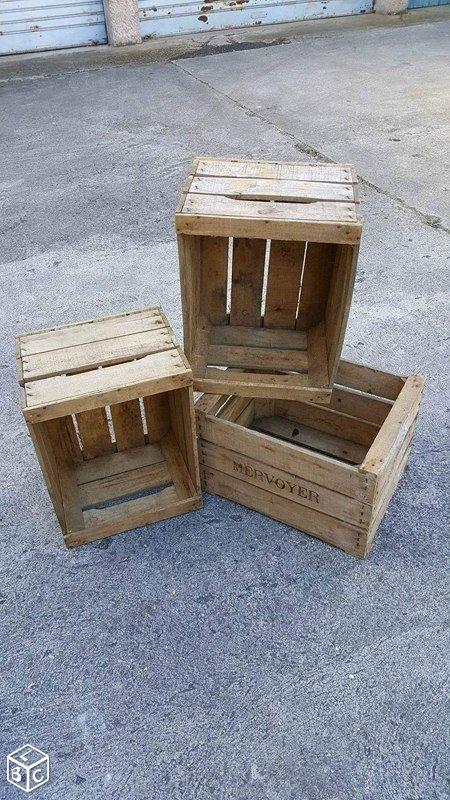 les 25 meilleures id es de la cat gorie caisse pomme sur pinterest caisse de pomme caisse de. Black Bedroom Furniture Sets. Home Design Ideas