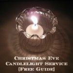 Christmas Eve Candlelight Service at home-- I loooove this idea! ~From our family to yours - a journey through the story of Christ's birth in song and Scripture!