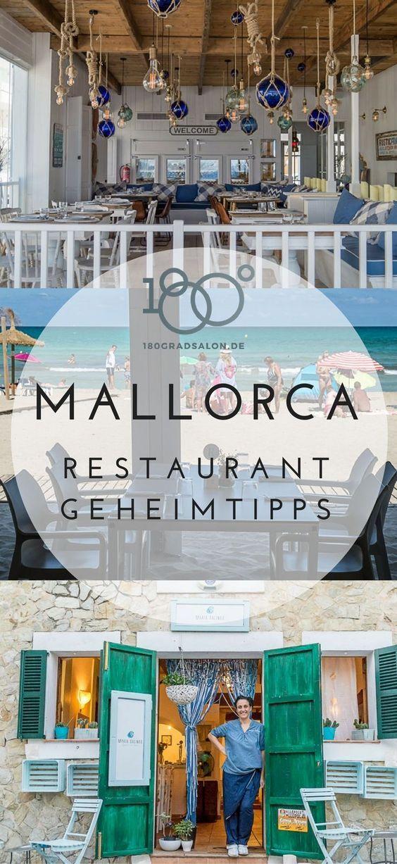 Mallorca Restaurant Tipps. Mit Meerblick, Dorfschönheiten, Rooftopbar Strandbars und viele Geheimtipps für den Urlaub.