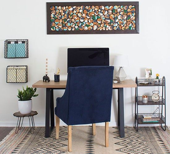17 Best Ideas About Small Office Decor On Pinterest: 17 Best Ideas About Modern Rustic Office On Pinterest