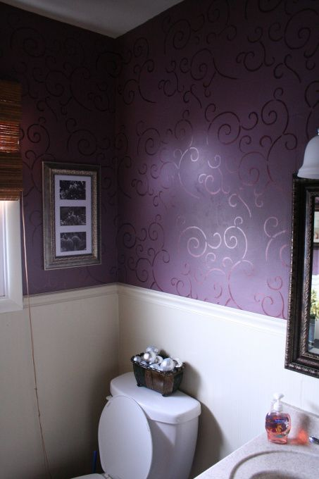 17 Best Ideas About Purple Bathrooms On Pinterest