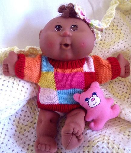 The 44 best images about Crochet or Knit Clothes for Cabbage Patch Kids on Pi...