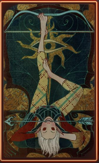 Dragon Age Inquisition: Sera Tarot Card - Romance