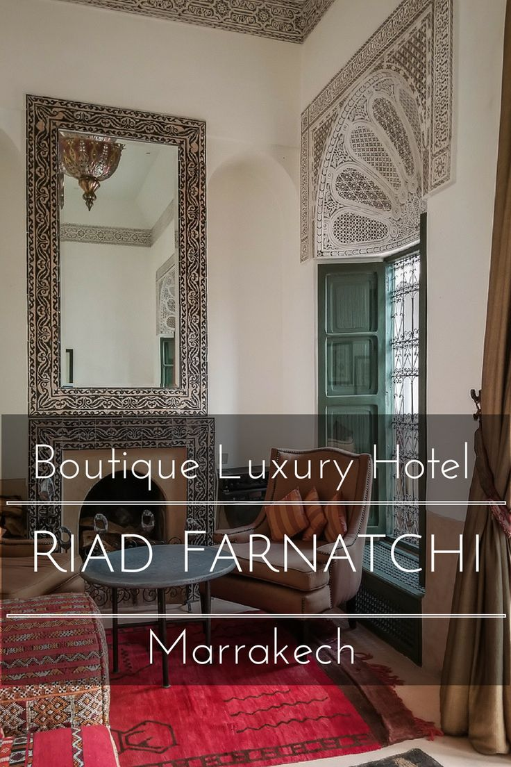 Riad Farnatchi- A Boutique Luxury Hotel in the Heart of Marrakech www.casualtravelist.com