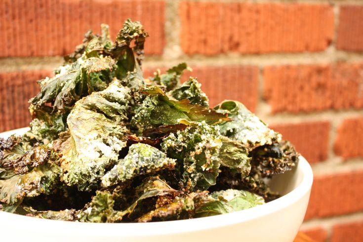 Cashew Lime Kale Chips - Brazen Kitchen - October 2013