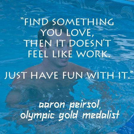 quote from Olympic Gold Medalist
