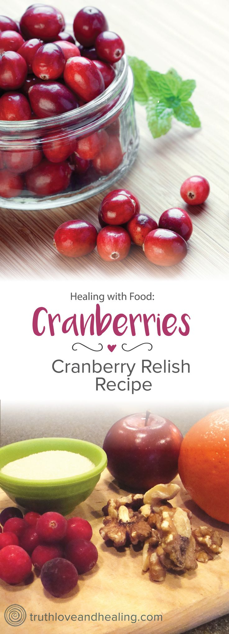 Your family will love this raw cranberry relish recipe for Thanksgiving as much as mine does!