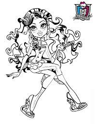 elephant monster high coloring pages - photo#9