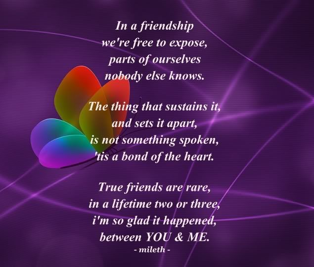 friendship poems and quotes