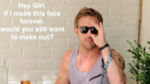 Hey Girl, Ryan Gosling: Ryan Gosling, Funny Interesting, But, Thankshey Girls, Gosling Awesome, Art Hey, Gosling Hey Girls, Hey Ryan, Diy Girls