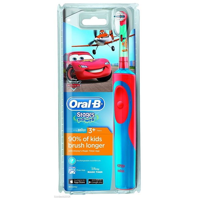 Oral-B Stages Power Disney Cars and Planes tandenborstel  Description: Oral-B Stages Power kindertandenborstel Disney Cars. Leer kinderen elektrisch tandenpoetsen met Oralb.  Price: 17.45  Meer informatie  #tandenborstel #philps #braun #tand #poetsen