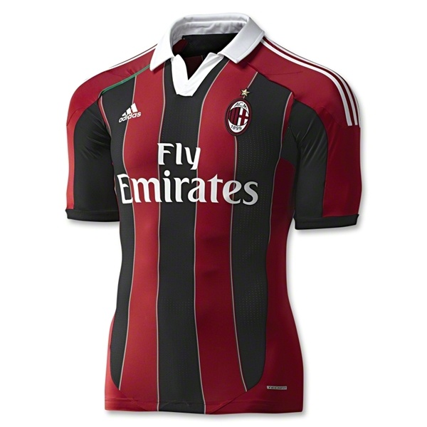 AC Milan Authentic Home Soccer Jersey