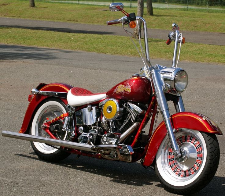 Red Choppers HD Fat Boy