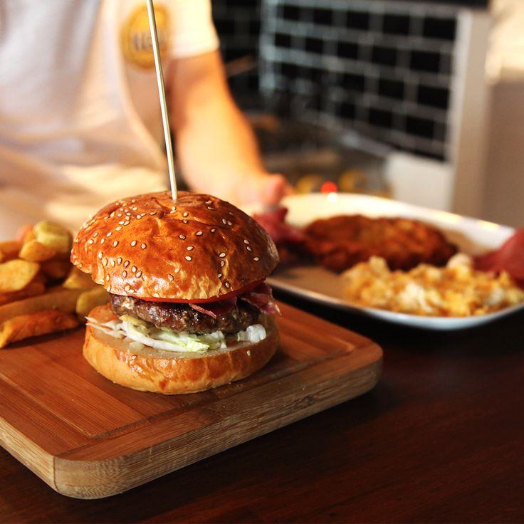 American Culture #American #KevCafe #Kadikoy #Burger #Breakfast