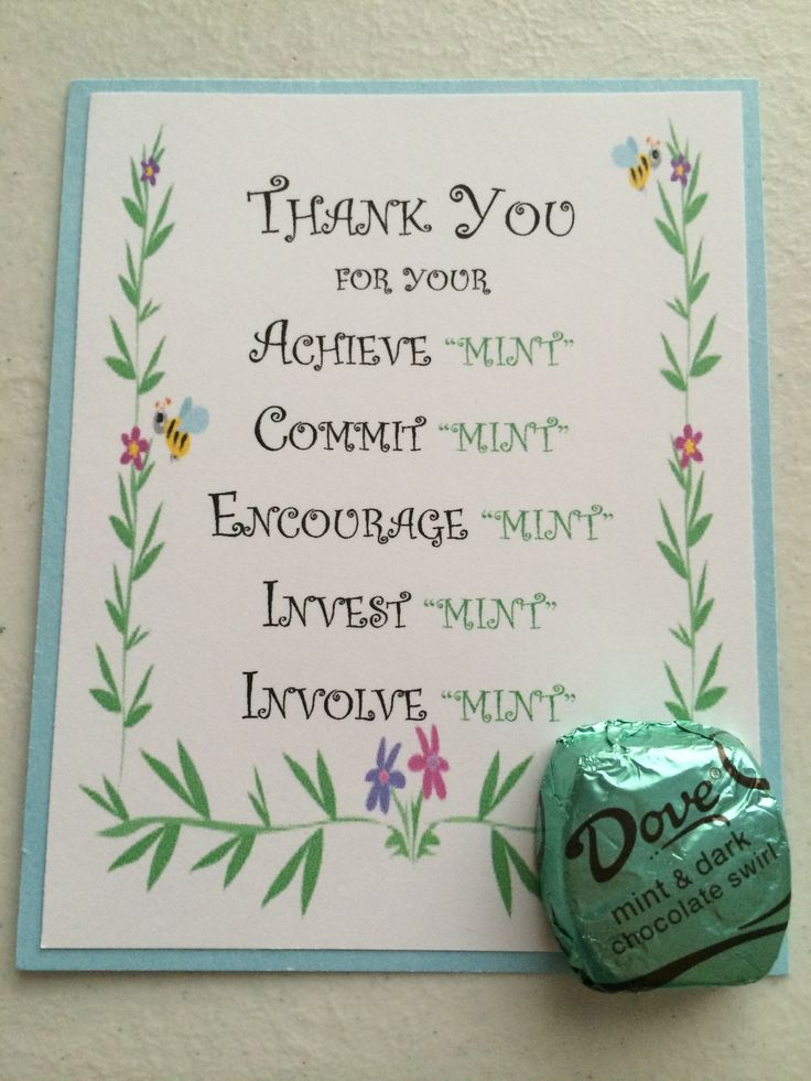 Volunteer Thank You card
