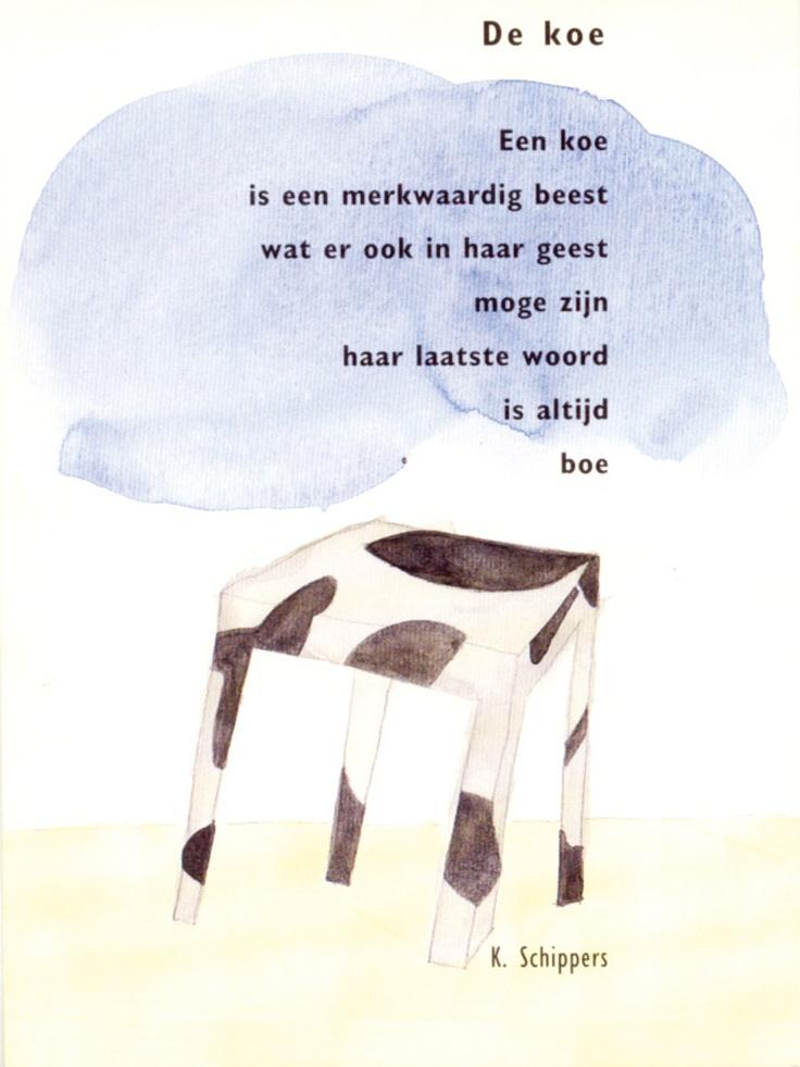 gedicht: K. Schippers / beeld: Klaas Gubbels ⓒ plint