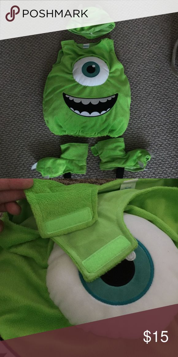 Disney Monsters Inc Mike Wazowski Costume The most adorable costume ever!  My son received tons of compliments!  Plus, it was easy to spot him! Disney Costumes Halloween