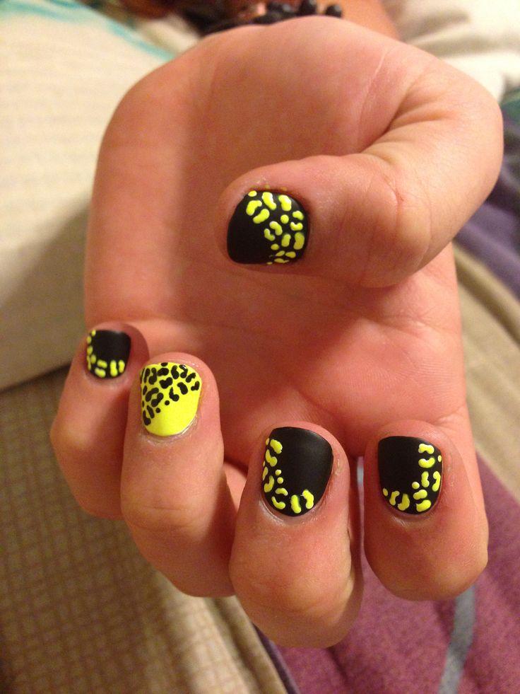 Cute Nail Designs Yellow: Simple and cute looking yellow nail art ...