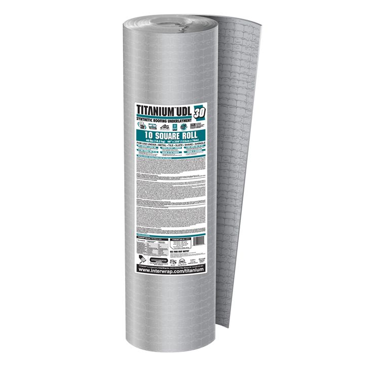 Titanium 48 In X 250 Ft 1000 Sq Ft Polypropylene Roof Underlayment 342007 In 2020 1000 Sq Ft Lowes