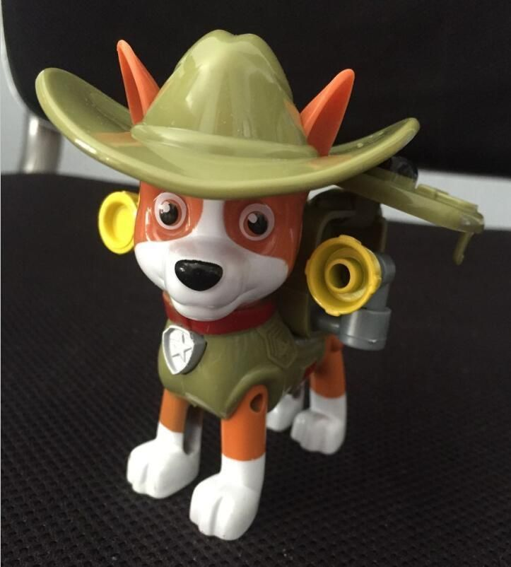 Paw Patrol Cake Toppers Action Figures Puppy Patrol Badget Dog Kids Toy Gift   #TuiNui