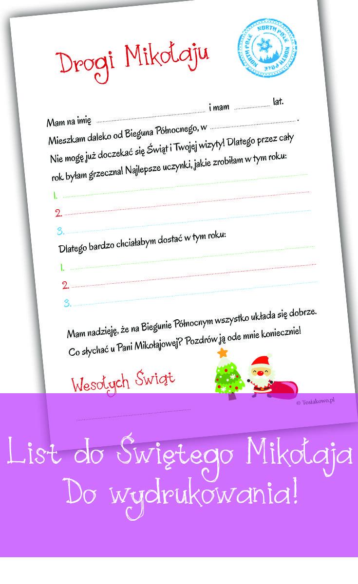 Twój list do św. Mikołaja :)