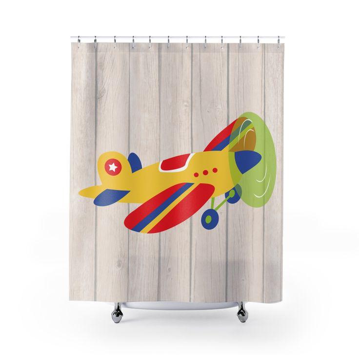 Boy Shower Curtain