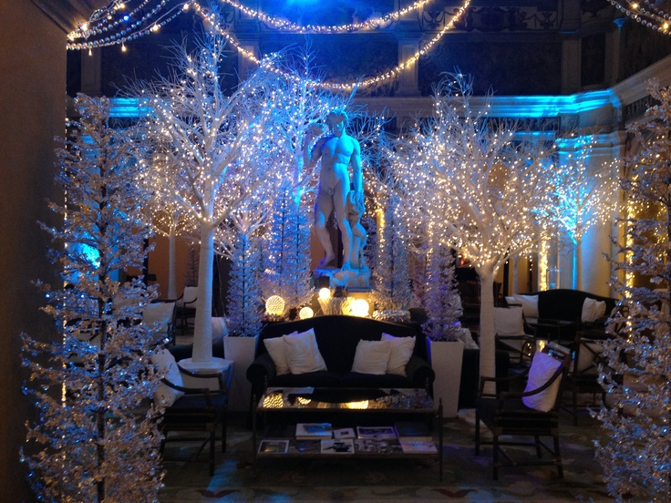 The Winter Wonderland in our Lobby. #christmas