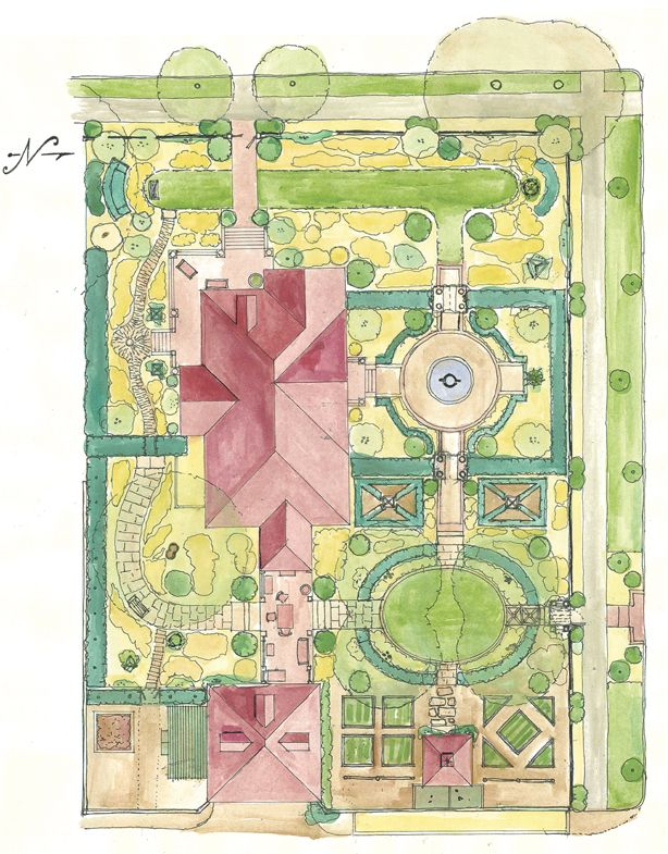 P. Allen Smith's Original Little Rock Home and Gardens Plan - this is the garden i would like to model our yard after. It is amazing!