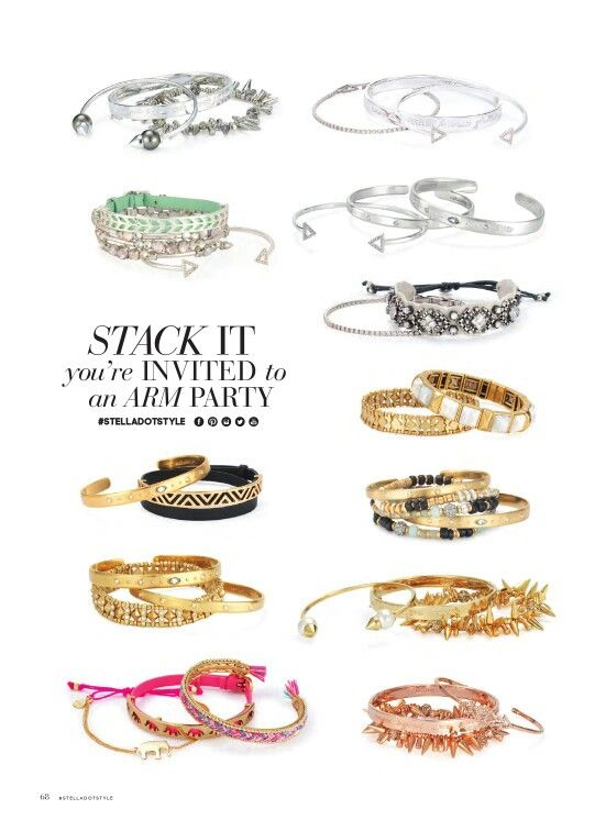 Totally into a Stella & Dot arm part! www.stelladot.com/brandicoplen