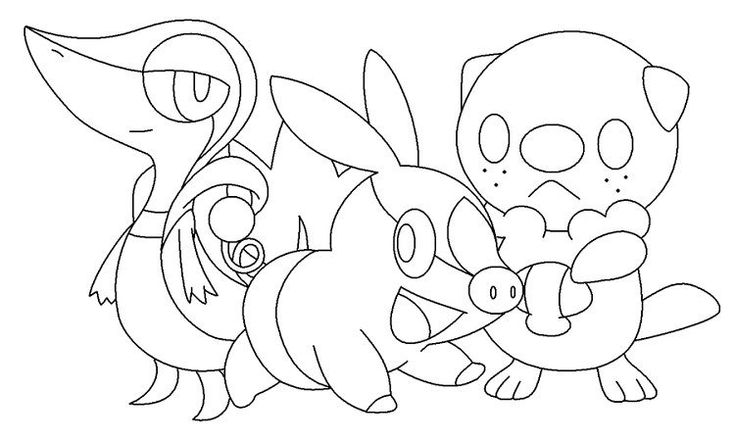 Pokemon Coloring Pages Starters Pokemon Coloring Pages Pokemon Coloring Bear Coloring Pages