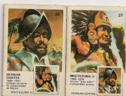 Hernán Cortés - Moctezuma II