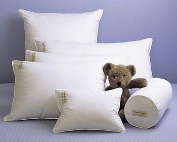 Fine White Goose Down Pillow: Gardenista