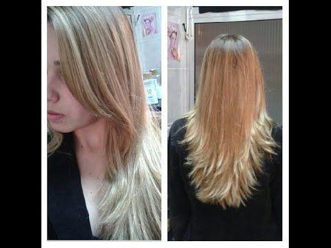 Corte repicado - Como cortar o cabelo e franja sozinha? - Amanda Câmara - YouTube
