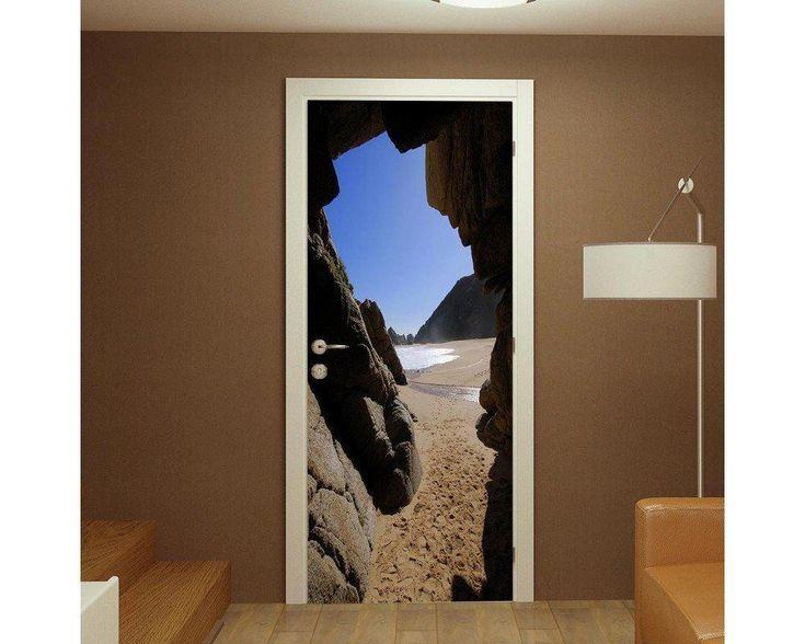 Cave, αυτοκόλλητο πόρτας , δείτε το!